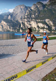 Lake Garda Marathon 2008 Stock Photos