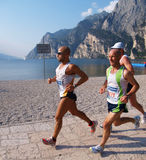 Lake Garda Marathon 2008 Stock Photo