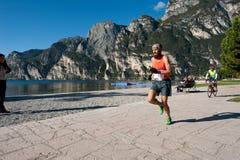 Lake Garda Marathon 2011 Royalty Free Stock Image