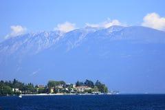 Lake Garda and Monte Baldo, Italy Stock Photography