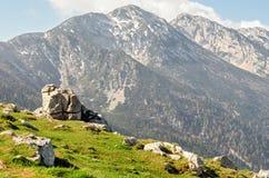 Lake Garda, Monte Baldo Stock Image