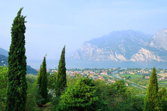 Lake Garda Nago-Torbole Royalty Free Stock Photography