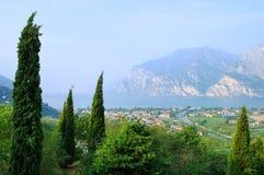 Lake Garda Nago-Torbole Royalty Free Stock Photography