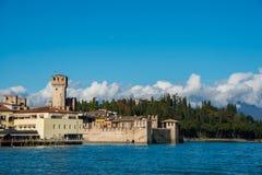 Lake Garda in Northen Italy Stock Images