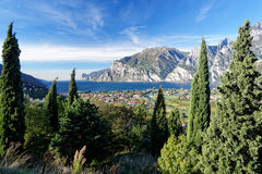 Lake Garda Panorama Royalty Free Stock Photo