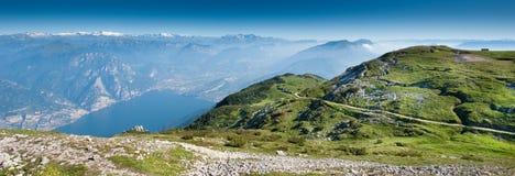 Lake Garda Panoramic Royalty Free Stock Photos