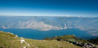 Lake Garda Panoramic Royalty Free Stock Photo