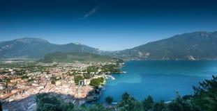 Lake Garda Panoramic Stock Photos