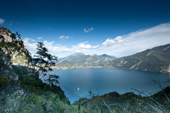 Lake Garda Panoramic Royalty Free Stock Photo