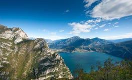 Lake Garda Panoramic Stock Images