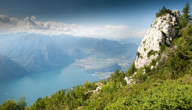 Lake Garda Panoramic Stock Photos