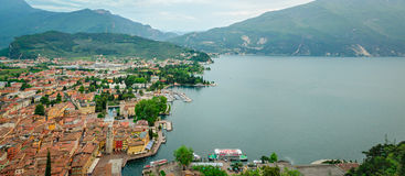 Lake Garda, Riva del Garda Stock Images