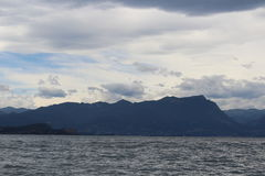 The Lake of Garda Royalty Free Stock Photography