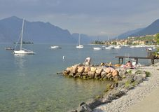 Lake Garda Royalty Free Stock Photography