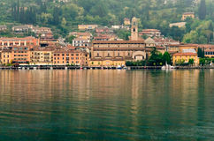 Lake Garda, Town of Salo' Stock Photography