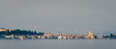 Lake Garda, Town of Sirmione Stock Image