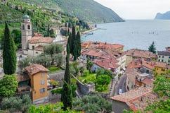 Lake Garda, Town of Torbole (Trentino, Italy) Stock Image