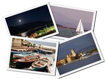 Lake Garda travel photos Royalty Free Stock Photo