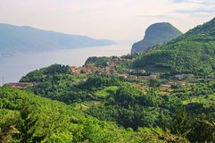 Lake Garda Tremosine Royalty Free Stock Images