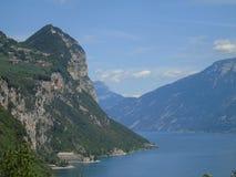 Lake of Garda. Visiting the lake of Garda near Verona in summer vacation Stock Image