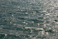 Lake Garda water surface Stock Photo