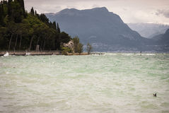 Lake of Garda Royalty Free Stock Photography