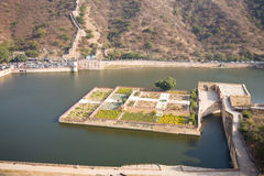 Lake Garden, Amber, Rajasthan Royalty Free Stock Image