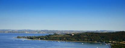 lake gardy Zdjęcie Royalty Free