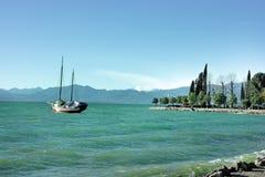 lake gardy obrazy royalty free