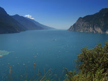 lake gardy Zdjęcie Stock