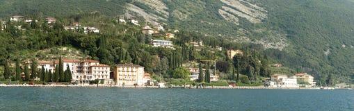 lake gardy kształtuje powierzchnię serii Obraz Royalty Free