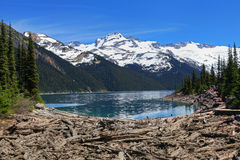 Lake Garibaldi in British Columbia, Canada Stock Photography