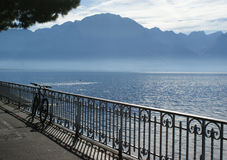 Lake of Geneva Royalty Free Stock Photo