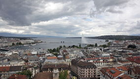 Lake Geneva, Geneva, Switzerland Stock Images
