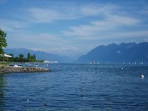 Lake Geneva royalty free stock photography