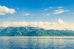 Lake Geneva, Vaud Royalty Free Stock Photography