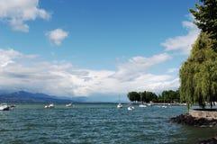 lake genewie Obraz Royalty Free
