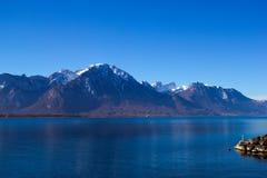 lake genewie Zdjęcie Royalty Free
