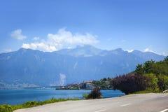 lake genewie Fotografia Royalty Free