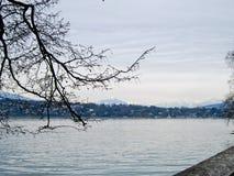 lake genewie Szwajcarii Obrazy Stock