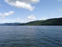 Lake George Landscape Stock Image