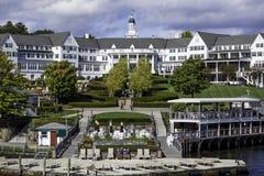 Lake George – OCTOBER 8: The Historical Sagamore Hotel Opened Royalty Free Stock Image
