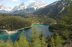 Lake in Germany. Beautiful lake in Germany Stock Photos