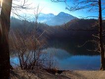 Lake. Germany Allgäu Füssen Stock Images