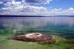 Lake geyser Royalty Free Stock Photo