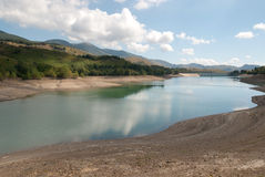 Lake giacopiane Stock Images