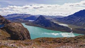 The lake Gjende in Norway Royalty Free Stock Photo