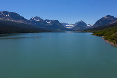 Lake in glacier national park Royalty Free Stock Photos
