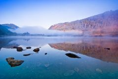 Lake in Glendalough Stock Photography