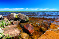 Lake Gogebic Michigan Upper Peninsula Royalty Free Stock Photo